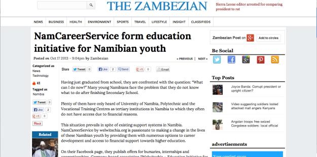 the zambezian