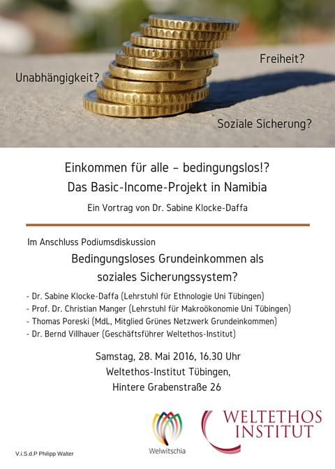 Bedingungsloses Grundeinkommen Tübingen